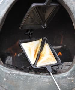 Cast Iron Toastie Iron