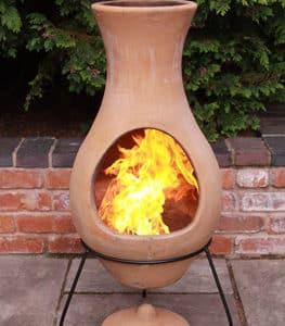 Four Elements Clay Chiminea Air Medium