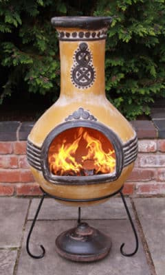 Azteca Mexican Chiminea Extra-Large