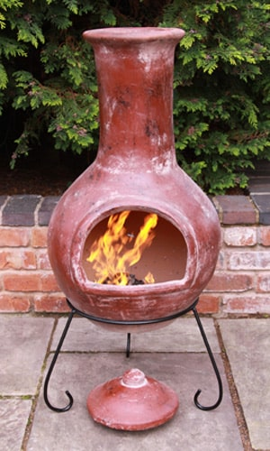 Colima Mexican Chiminea Extra Large