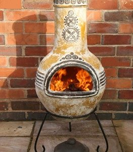 Azteca Mexican Chiminea (Large)