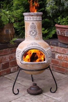 Azteca Mexican Chiminea (Medium)