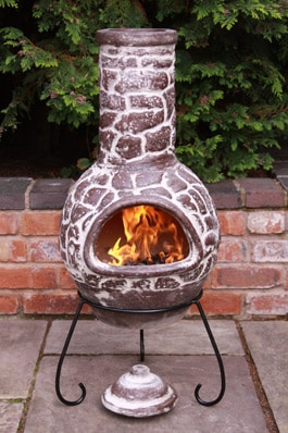 Cantera Mexican Chiminea Large