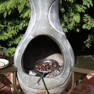 Steel Chestnut Pan