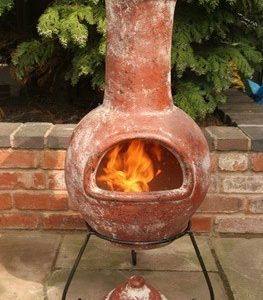 Colima Mexican Chiminea (Large)