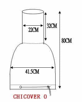 Small Chiminea Cover Dimensions