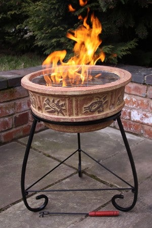 Naguales Clay Firebowl
