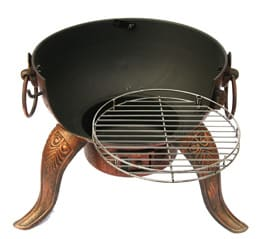 Tia Steel Chiminea Base