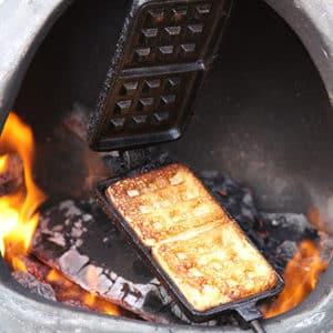 Cast Iron Waffle Pan
