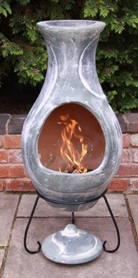 Four Elements Chiminea Water Large