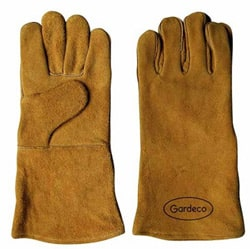Leather Chiminea Gloves