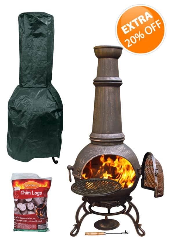 Toledo Extra Large Basics Bundle with logs and cover