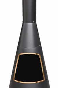 Cono Chiminea With Copper Rim