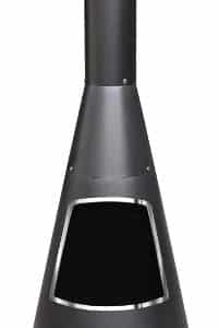 Cono Chiminea With Stainless Steel Rim