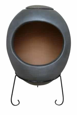 Ellipse Mexican Chiminea Charcoal