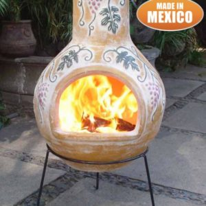 Grapes Mexican Chiminea (Extra Large)