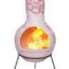 Rosas Mexican Chiminea - Pastel Amethyst (Extra Large)