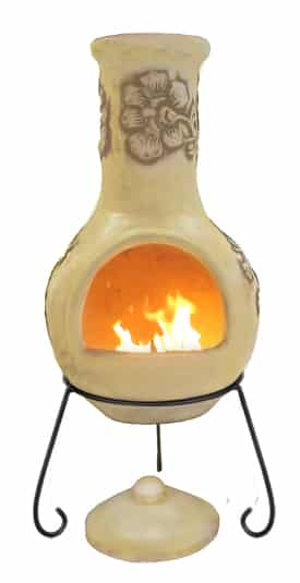 Rosas Mexican Chiminea - Pastel Caramel (Extra Large)
