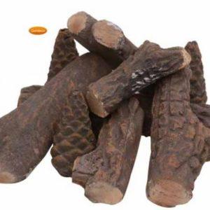 Ceramic logs
