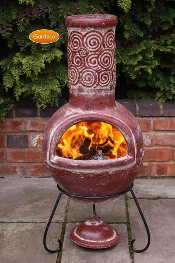 Espiral Mexican Chiminea (Large)