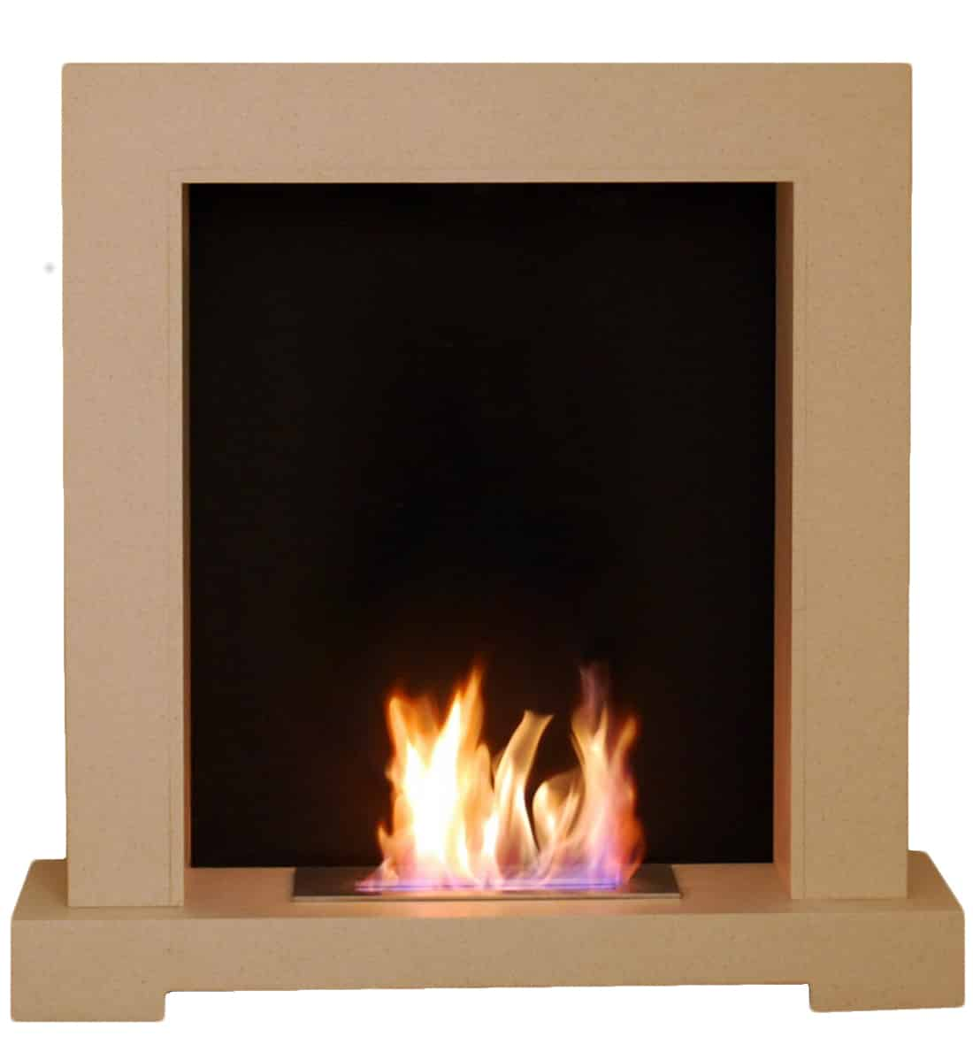 Magmafire Cotswold Natural Stone Bioethanol Fireplace Free