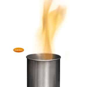 Small Bioethanol Chim Burner