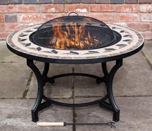 Calenta Steel Firebowl