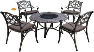 Armande Firebowl Table & Chair Set