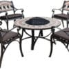 Constance Firebowl Table & Chair Set