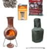 Extra Large Mexican Chiminea Premium Bundle