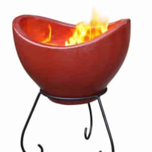 Nebulo Clay Firebowl
