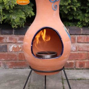 Four Elements Air clay bioethanol fireplace