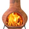 Tibor Mexican Chiminea - Brown (Jumbo)