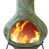 Tibor Mexican Chiminea - Green (Jumbo)