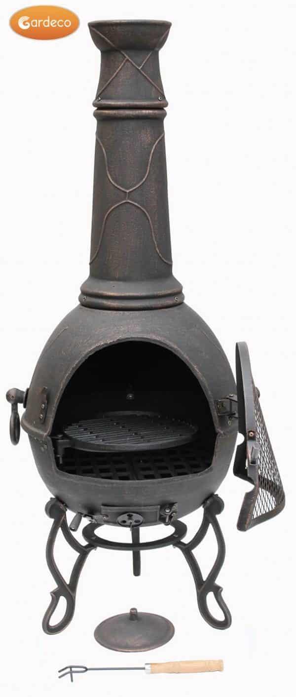Magna Cast Iron Chiminea