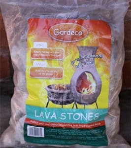 Pumice Stones (2 x 4L bags) - for Jumbo Clay Chimineas