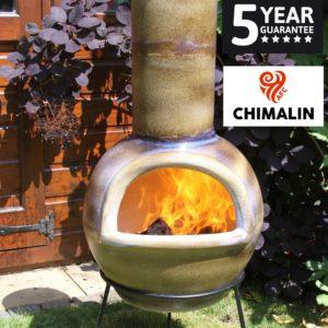 Sempra Chimalin AFC Chiminea - Mottled Dark Sand Brown