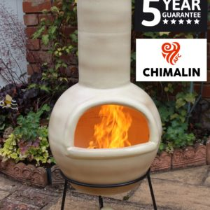 Sempra Chimalin AFC Chiminea - Mottled Light Brown (Large)