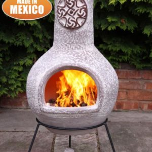 Cruz Mexican Chiminea brushed sandstone