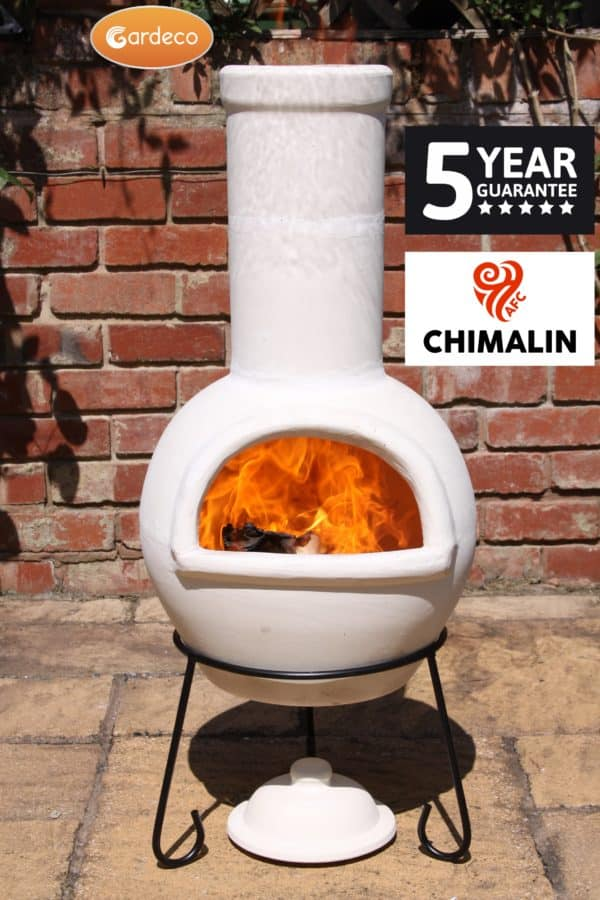Sempra Chimalin AFC Chiminea - Natural Finish