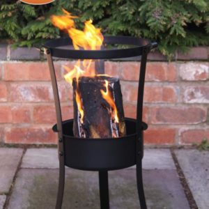 Swedish log burner with BBQ grill