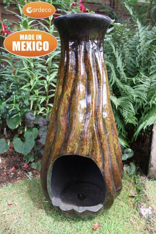 Calabaza Mexican Art Chiminea
