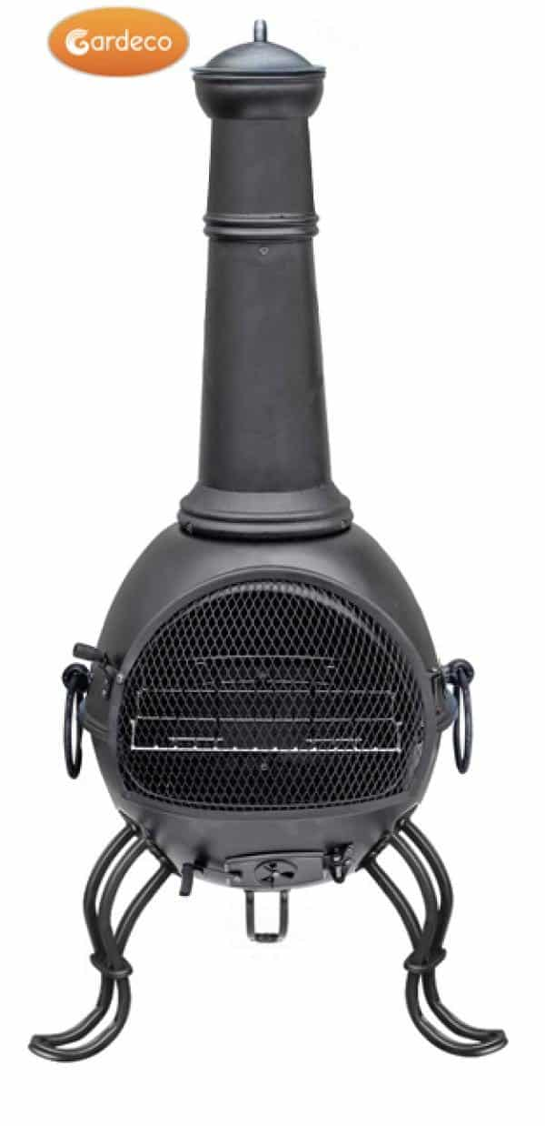 Houston XL Steel Chiminea
