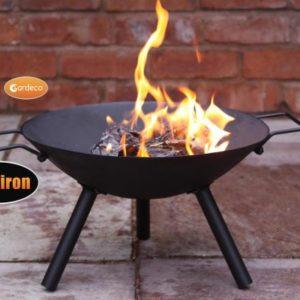 Maelyss Cast Iron Fire Pit