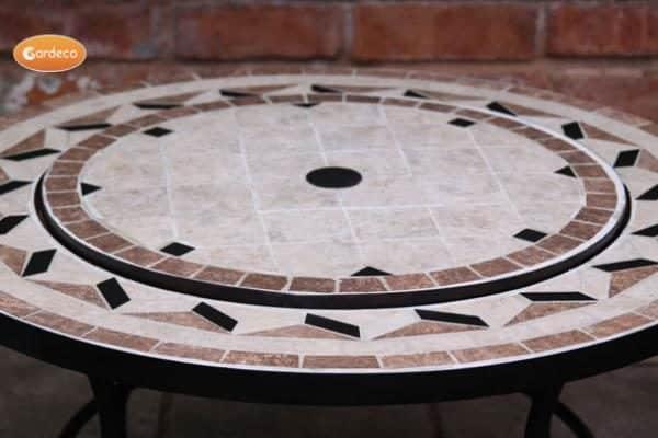 Mosaic Tile Insert for Calenta Firebowl