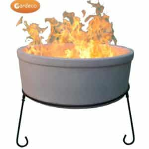 Atlas Chimalin AFC Fire Bowl (Natural Clay) Jumbo