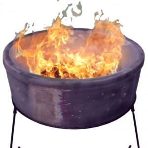 Atlas Chimalin AFC Fire Bowl (Mottled Purple) Jumbo
