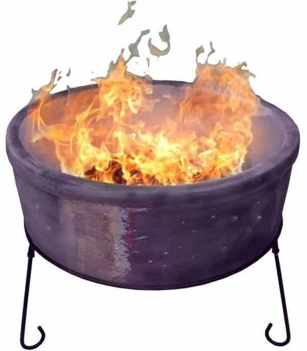 Atlas Chimalin AFC Fire Bowl (Mottled Purple) Jumbo