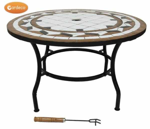 Calenta Steel Fire Bowl Table with Insert