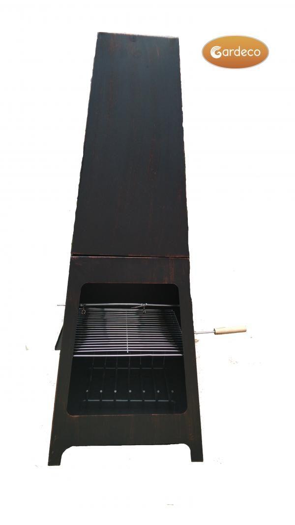 Sven steel chiminea fireplace